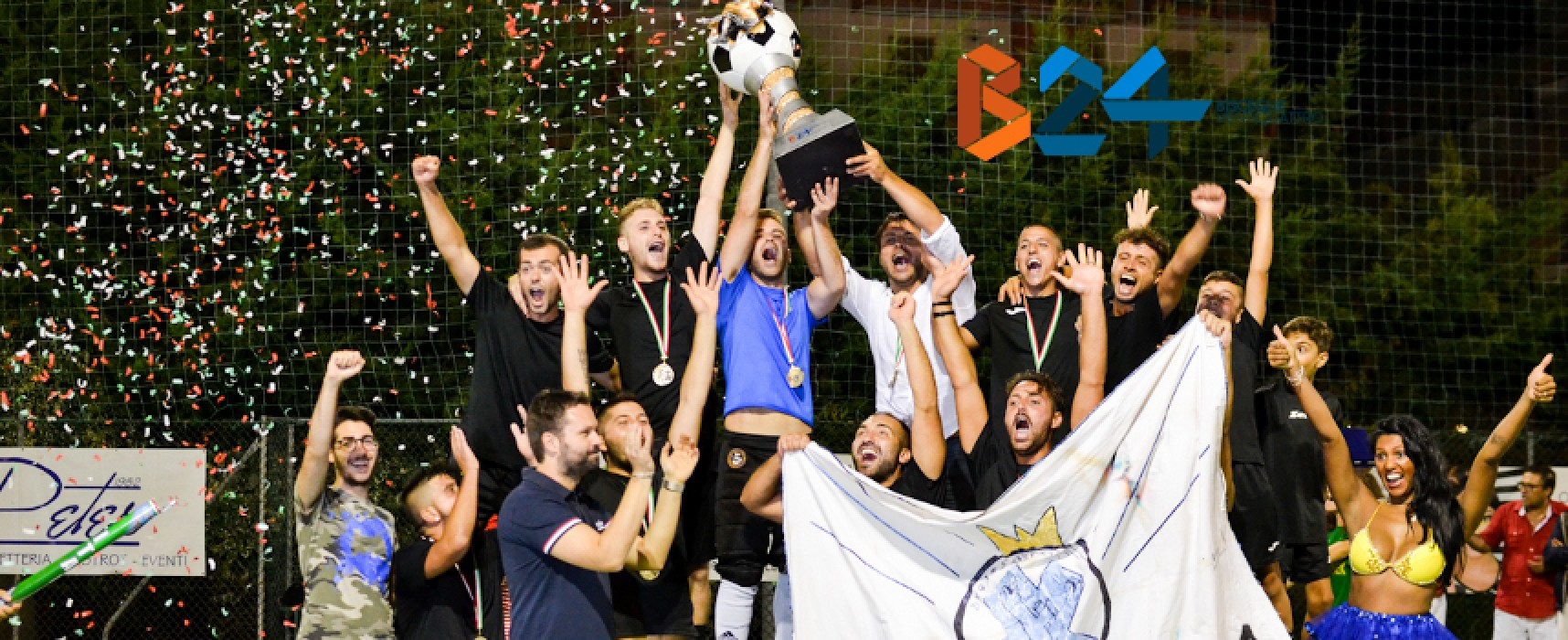 Trofeo Bisceglie24, la 13esima edizione la vince il Bunker Cantera / VIDEO e FOTOGALLERY