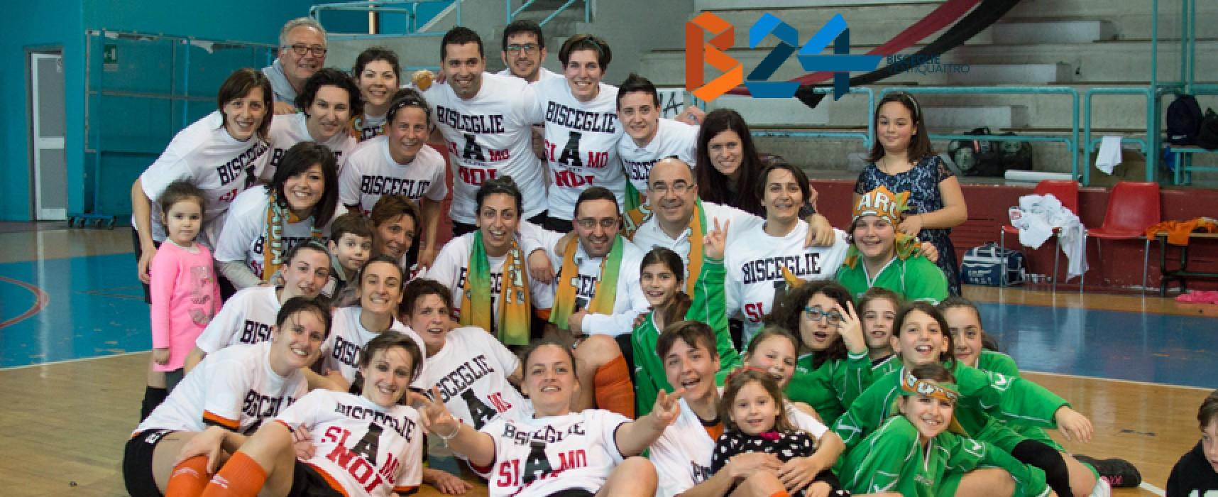 Calendario Serie A Elite: esordio a Napoli per l'Arcadia Verysimple Bisceglie