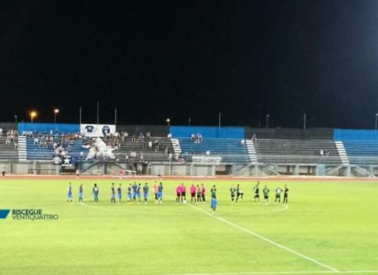 Bisceglie calcio sconfitto dal Bitonto nell'ultimo test amichevole