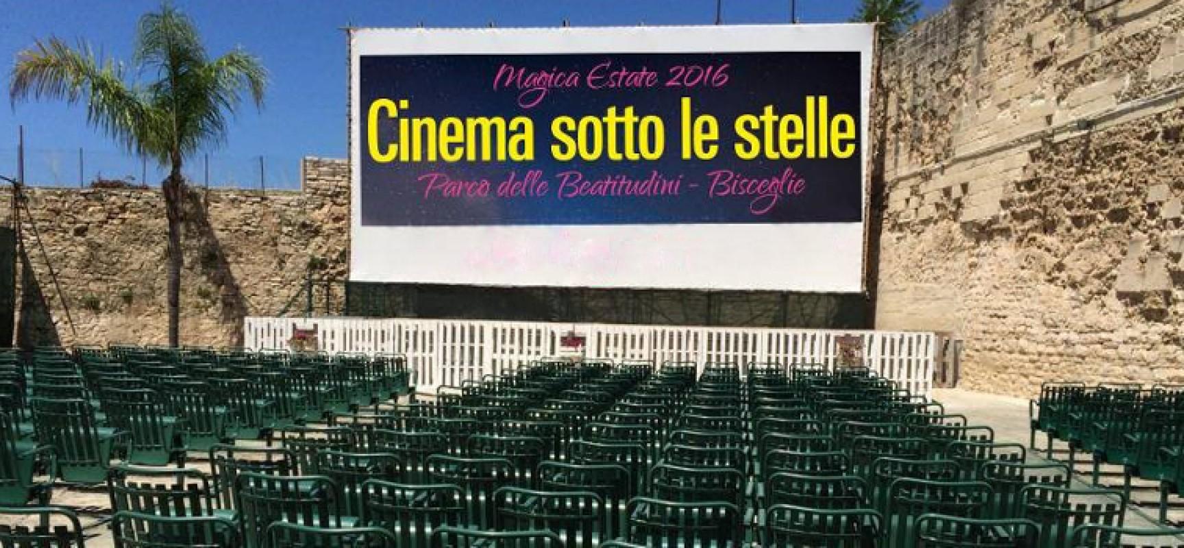 """""""Cinema sotto le stelle"""", ecco la programmazione dal 30 agosto al 5 settembre"""