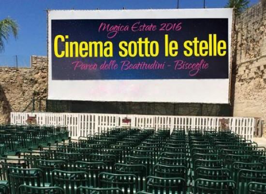"""Si avvia verso la conclusione la rassegna """"Cinema sotto le stelle"""""""