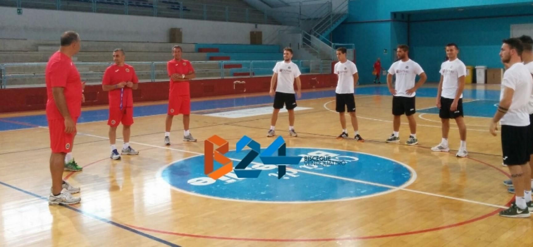 Il Futsal Bisceglie comincia a lavorare, ieri il raduno
