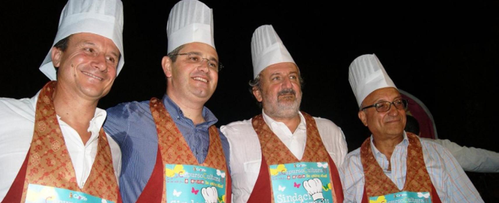 """""""Sindaci, ai fornelli!"""", nell'edizione 2016 anche il primo cittadino biscegliese Francesco Spina"""