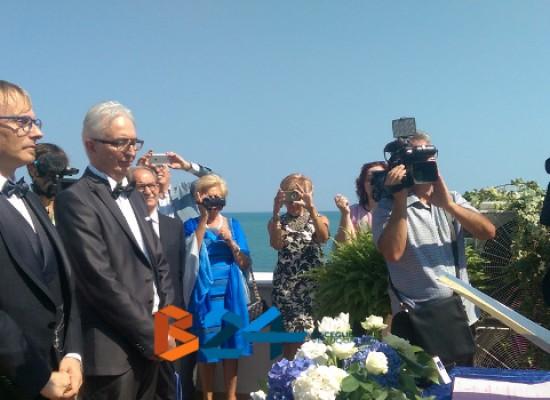 Celebrata prima unione civile nella Bat, sposi il biscegliese Nicola Giuliani e Nunzio Liso/VIDEO
