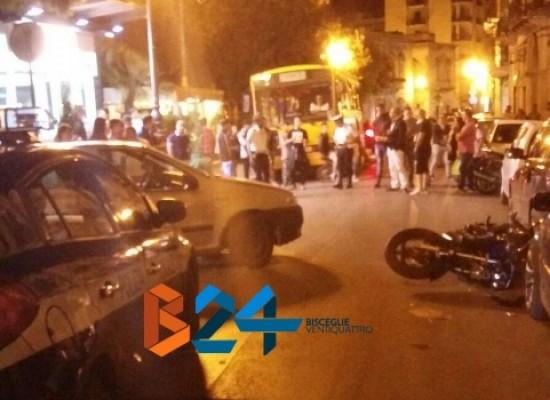 Incidente ieri sera in zona Sant'Agostino, ferita 16enne biscegliese