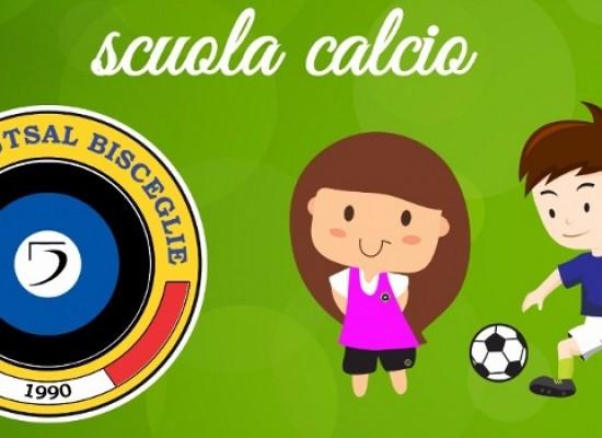 Futsal Bisceglie, la scuola calcio si rinnova con un progetto più ampio