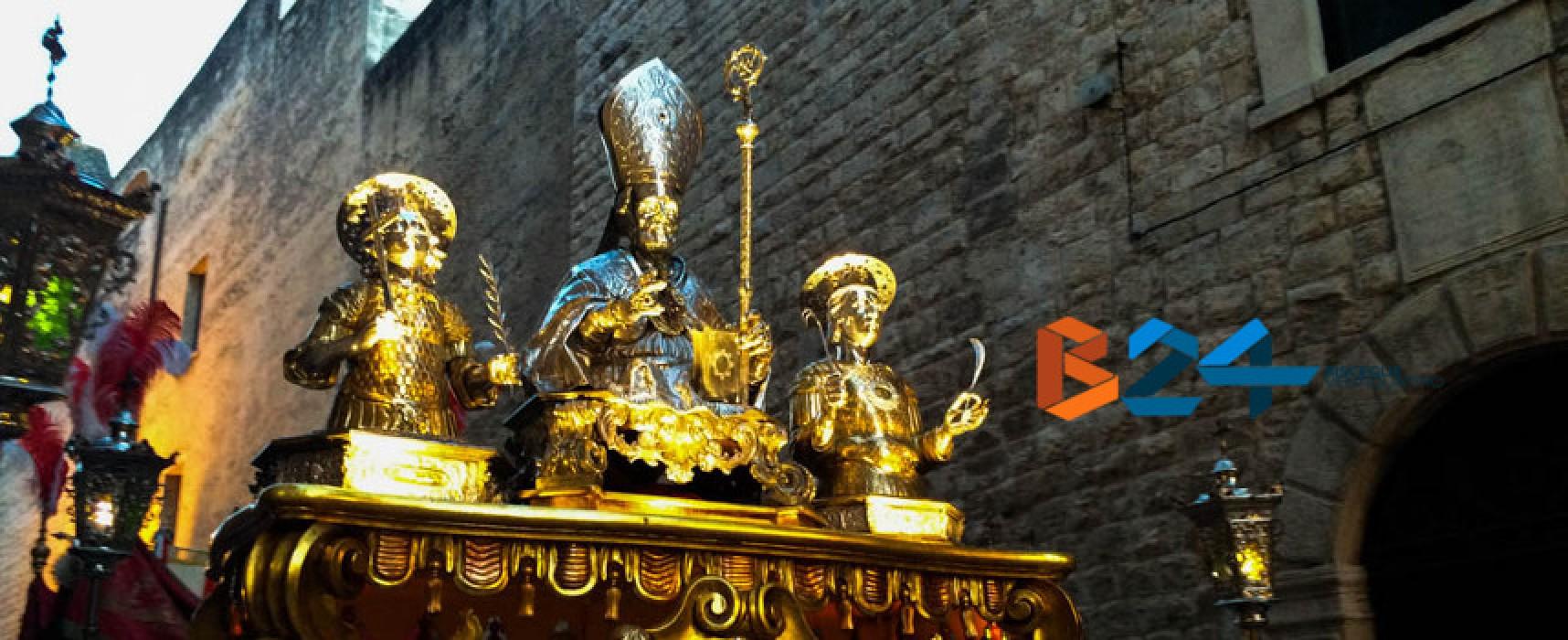 Dedicazione Cattedrale Bisceglie e Ritrovamento reliquie santi patroni in diretta Facebook
