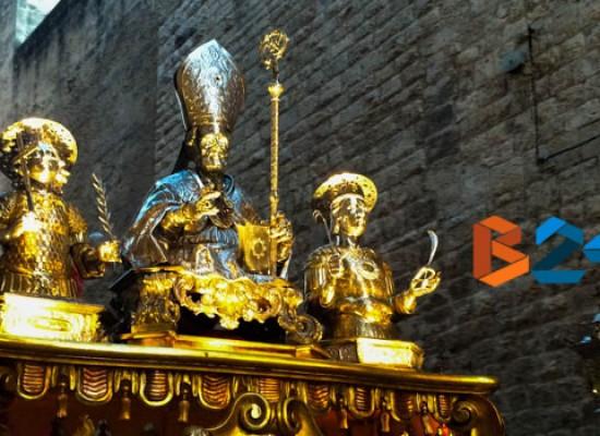 Si rinnova il rito della processione dei santi patroni tra devozione e tradizione / FOTOGALLERY