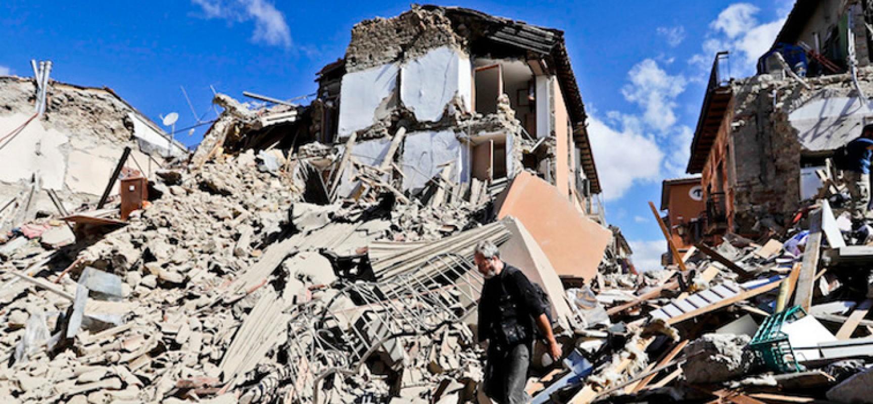 """Terremoto, """"salvato"""" da infarto mentre era in vacanza a Bisceglie"""