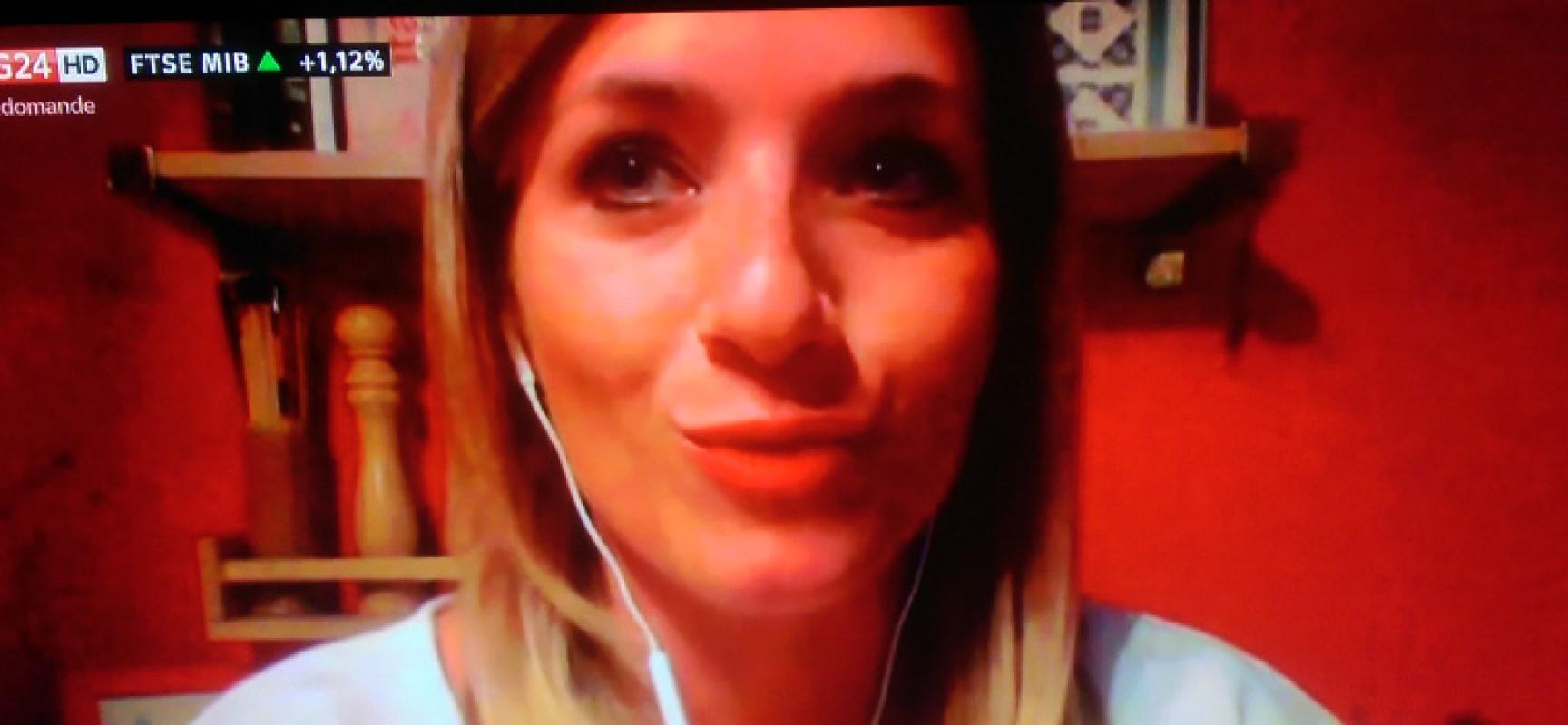 """La blogger biscegliese Marzia Papagna in diretta su Sky Tg24 per il """"Fertility Day"""""""