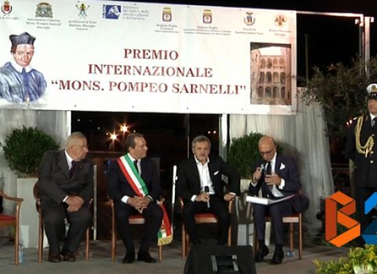 Le eccellenze del territorio a Bisceglie per ricevere il Premio Sarnelli / VIDEO e FOTO