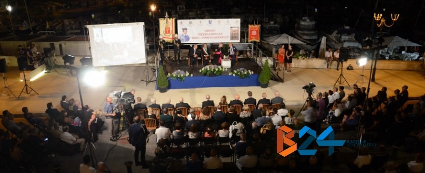 """Premio """"Pompeo Sarnelli"""", segui su Bisceglie24 la DIRETTA LIVE in streaming"""