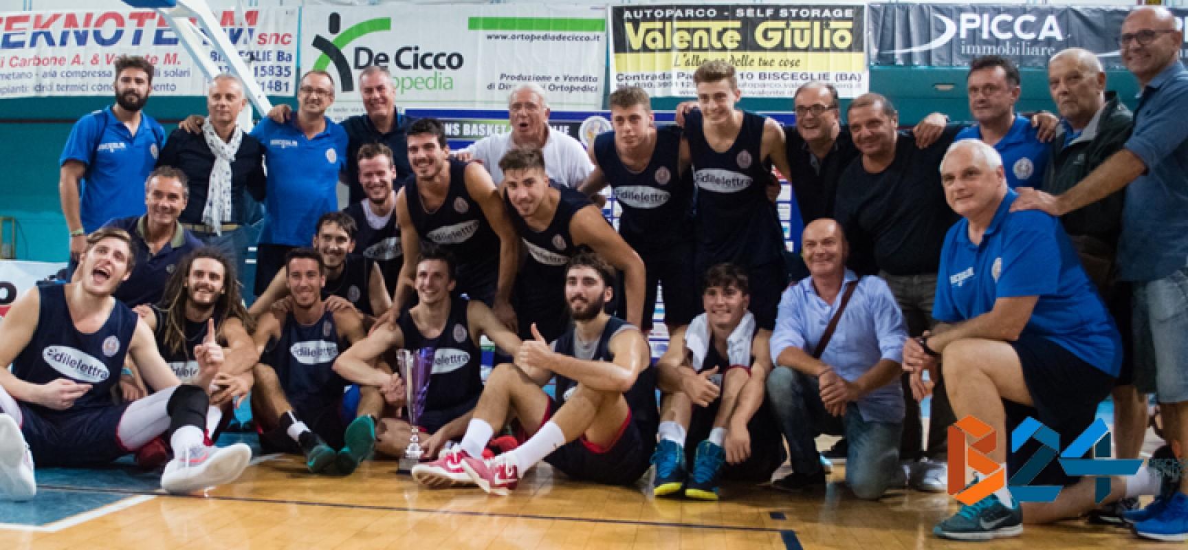 """Trionfo Lions Basket al memorial """"Di Benedetto"""", i nerazzurri battono nettamente anche Matera"""