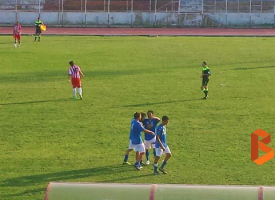 Unione Calcio, vittoria in rimonta sul campo della Molfetta Sportiva