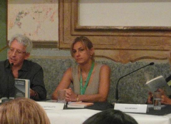 Eva Cantarella ieri ospite della tappa biscegliese dei Dialoghi di Trani