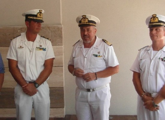 Capitaneria di Porto, il comandante Dell'Orco cede il testimone al maresciallo Catalano