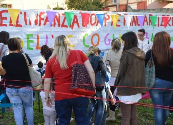 """Scuola """"don Pierino Arcieri"""", BinarioZero colora l'avvio dell'anno scolastico / FOTO"""