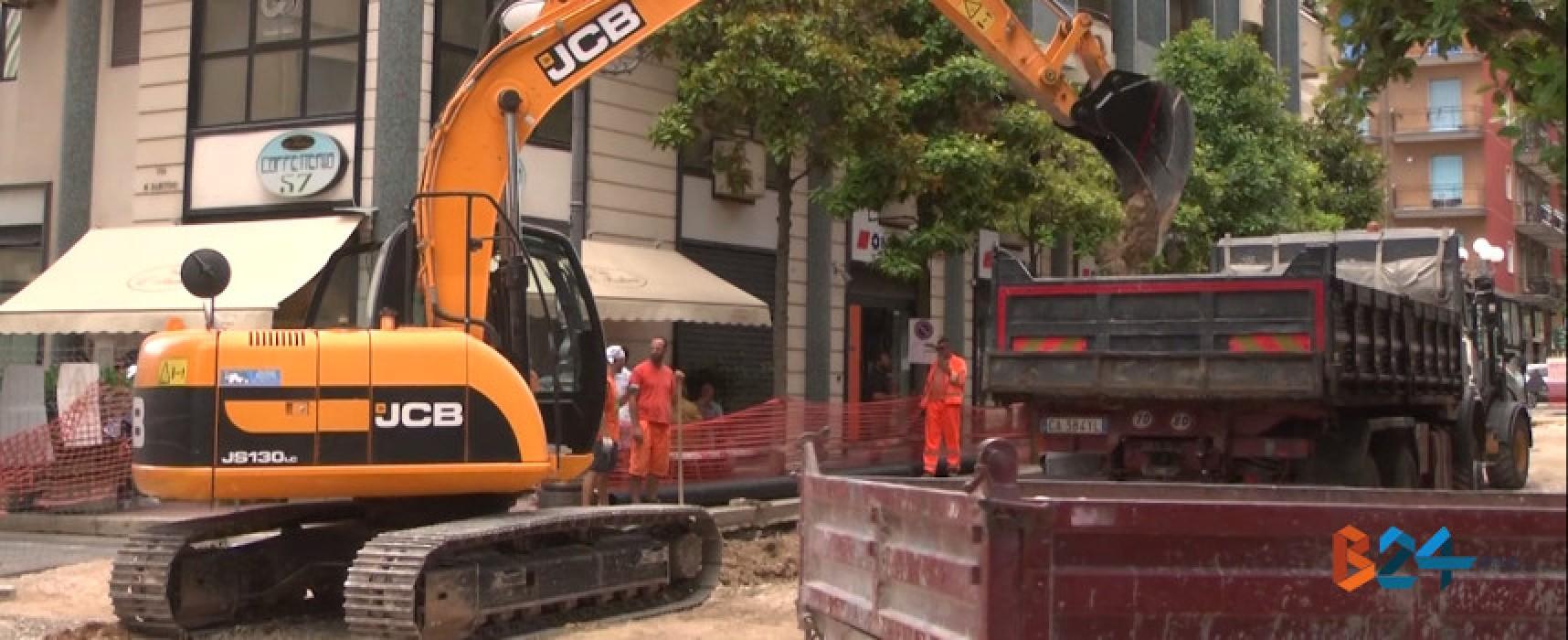 Pedonalizzazione via Aldo Moro, l'Arteco srl si aggiudica i lavori da svolgere in 90 giorni