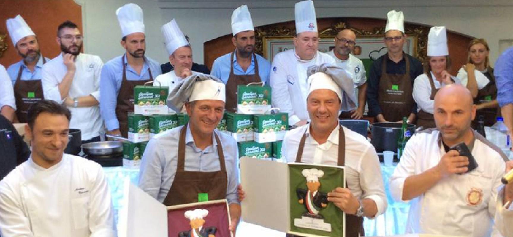 """""""Sindaci, ai fornelli!"""", nell'edizione 2017 due chef di casa nostra: Giovanni Lorusso e Giuseppe Frizzale"""