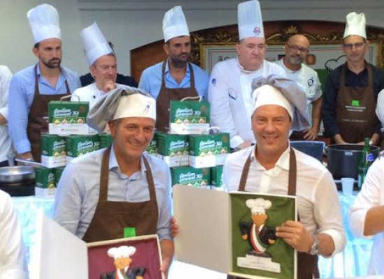 """""""Sindaci ai fornelli"""", la squadra Spina (Bisceglie) – Lovascio (Conversano) vince la IV edizione / FOTO"""