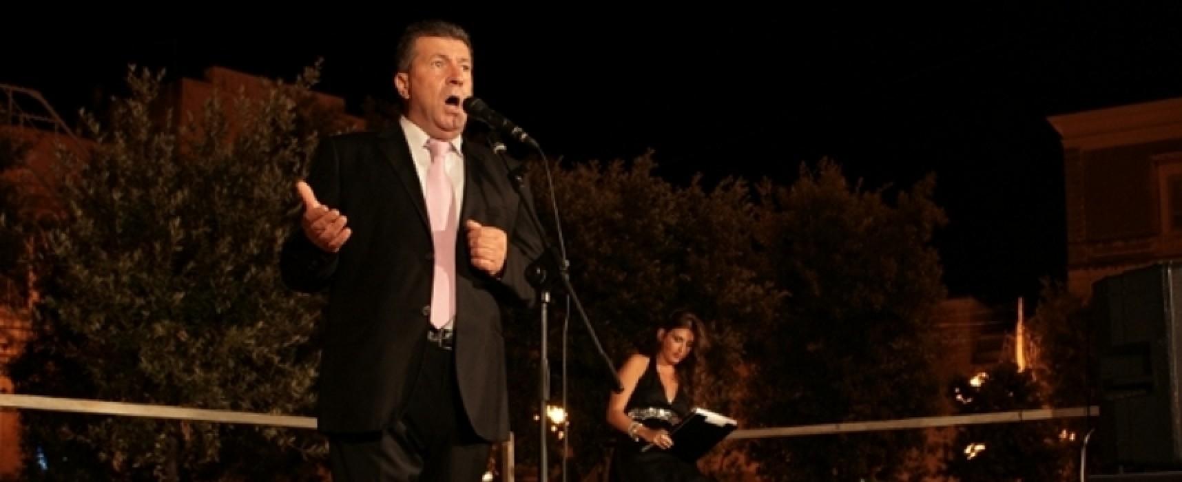 """""""Napoli Recital"""", il concerto del tenore Girolamo Binetti a Bisceglie Approdi"""
