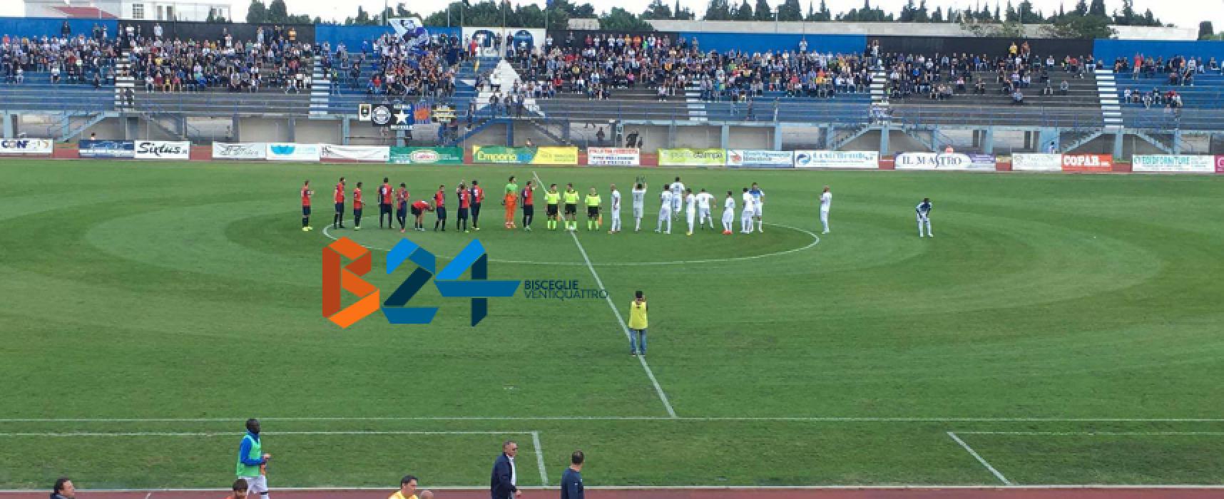 Al Bisceglie basta un gol di Agodirin, contro la Gelbison è 1-0