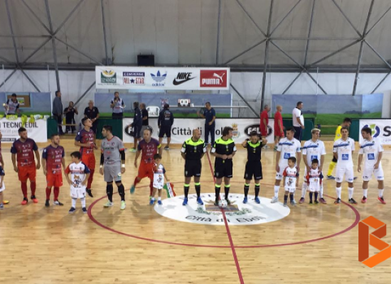 Peruzzi e Ramirez non bastano, Futsal Bisceglie battuto 4-3 ad Eboli
