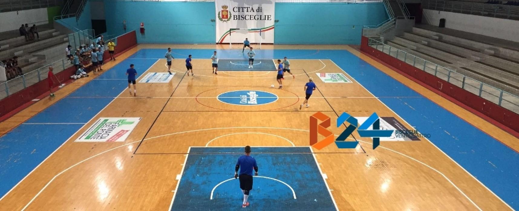 Futsal Bisceglie, rotonda vittoria in amichevole con l'Eraclio Barletta