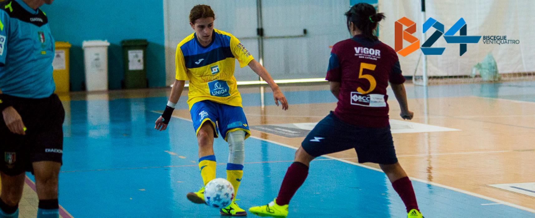 Arcadia e Futsal Bisceglie femminile oggi in cerca di riscatto dopo le sconfitte dell'ultimo turno