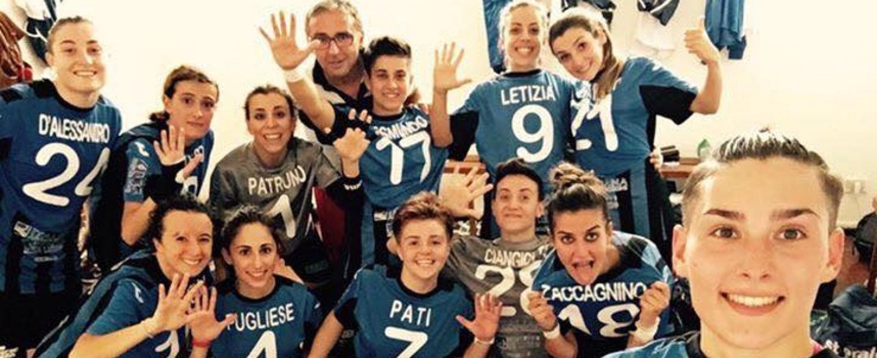 """Futsal Donne: Arcadia cerca la """"remuntada"""", il Futsal Bisceglie il pass per le semifinali playoff"""