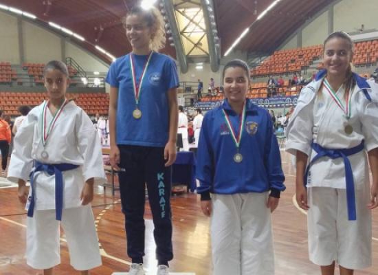 Karate: ottimo terzo posto di Laura Dell'Olio a Conversano