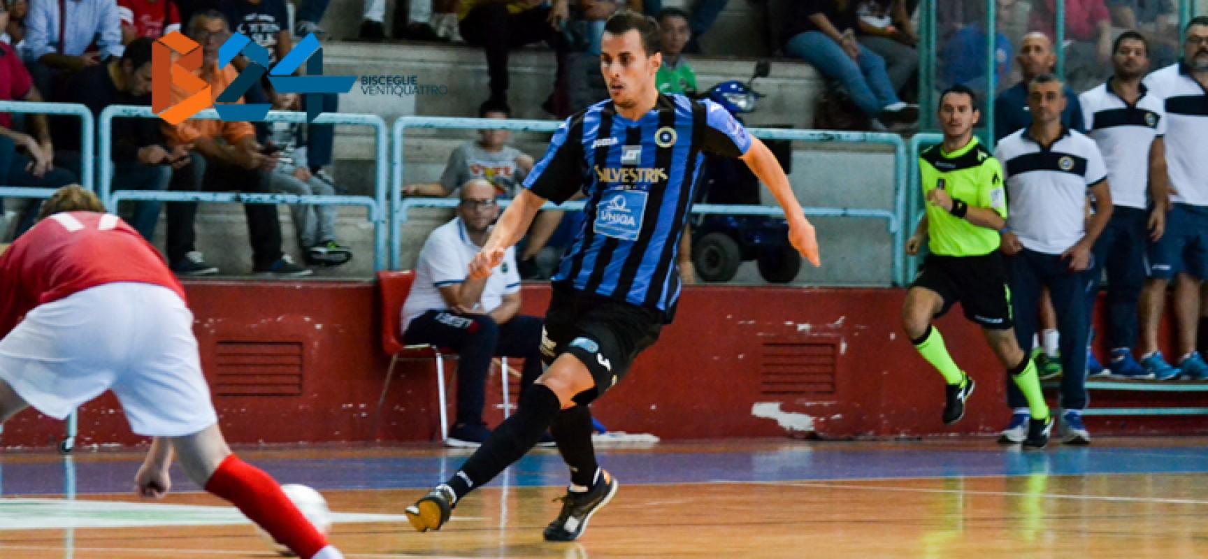Futsal Bisceglie: il tabù Augusta continua, prima sconfitta interna stagionale