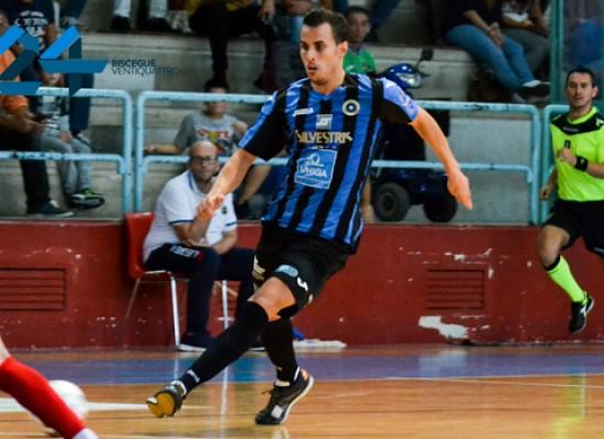 Il Futsal Bisceglie supera nettamente il Sammichele, Sanchez ne fa cinque