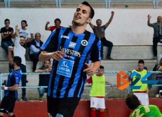 Impresa Futsal Bisceglie, sconfitto nel finale il Borussia Policoro
