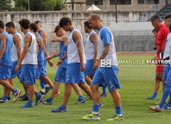 Bisceglie Calcio, squadra a rapporto dopo la sconfitta di Gravina