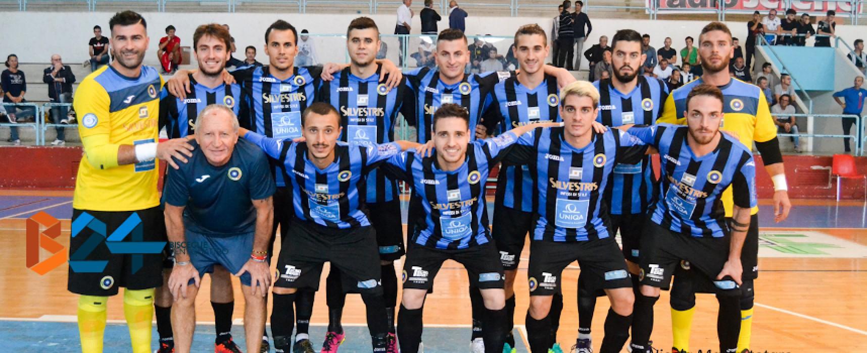 Il Futsal Bisceglie torna a ruggire, 6-2 al Meta