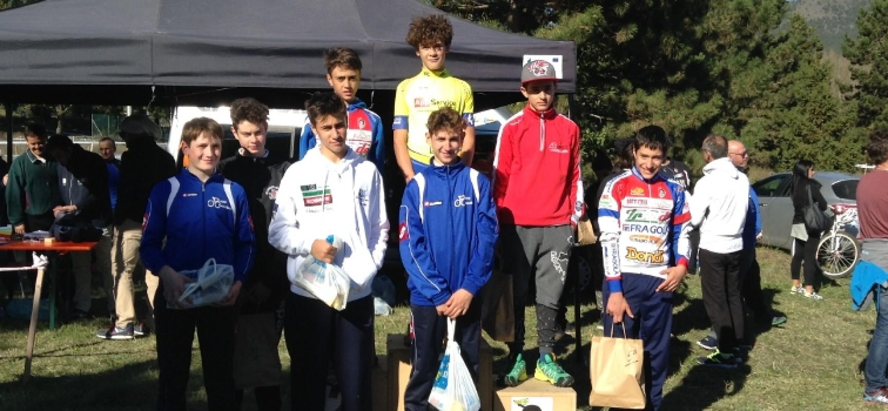 """Ludobike, primo posto per Loconsolo tra gli esordienti al 2° trofeo """"Città de L'Aquila"""""""