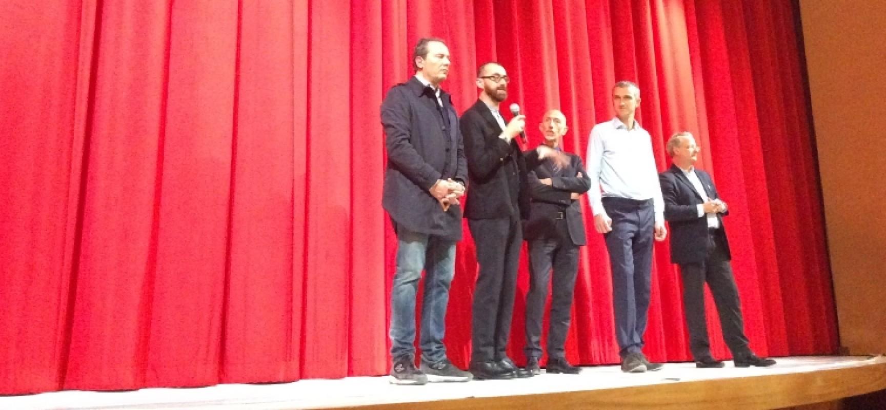 """Il Teatro Garibaldi di Bisceglie ha ospitato l'anteprima nazionale di """"Moving Stones"""""""