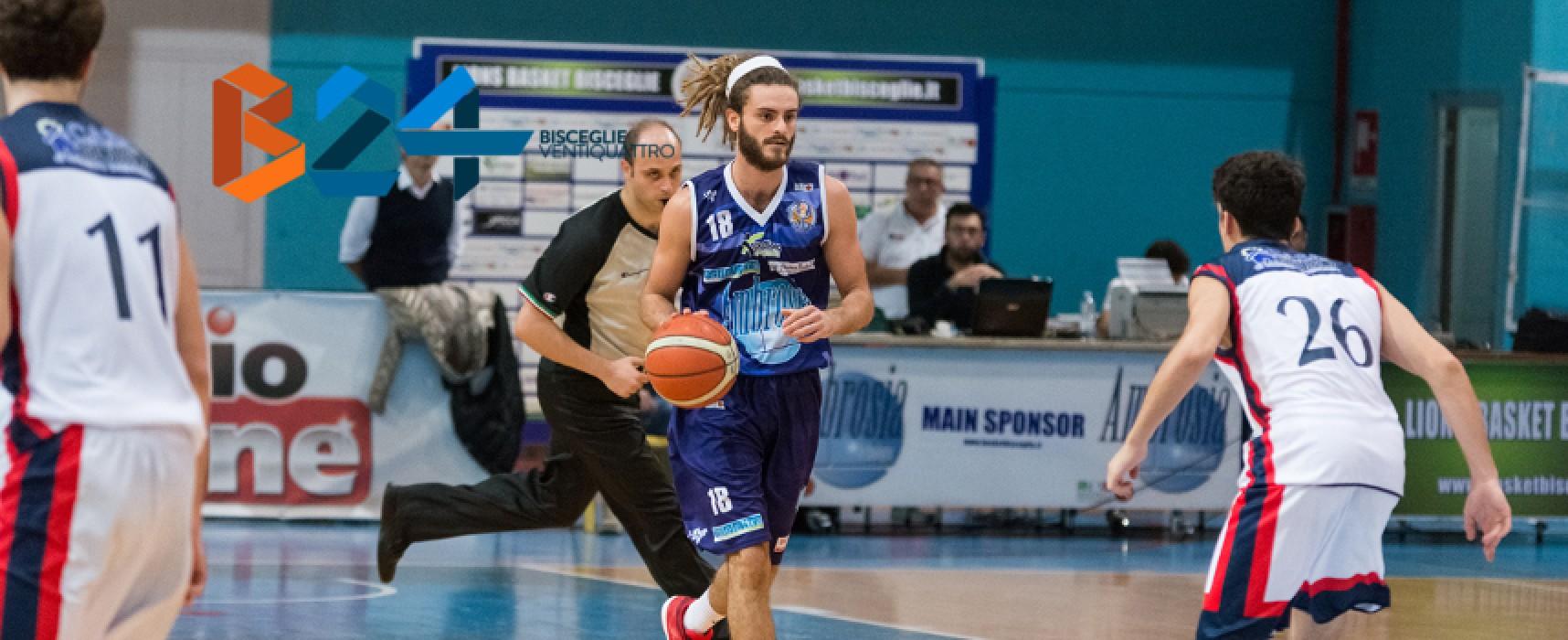 Lions Basket, in casa contro Ortona in cerca della terza vittoria consecutiva