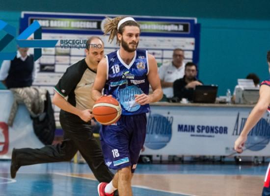 Lions Basket, al Paldomen contro Isernia senza il play titolare Marco Cucco