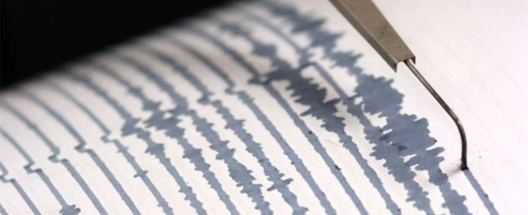 Terremoto al largo della costa brindisina avvertito nella notte anche a Bisceglie