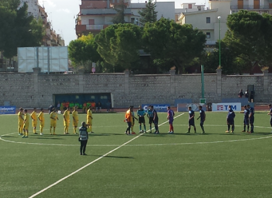 Unione Calcio, sconfitta beffarda  a Terlizzi contro il Vieste