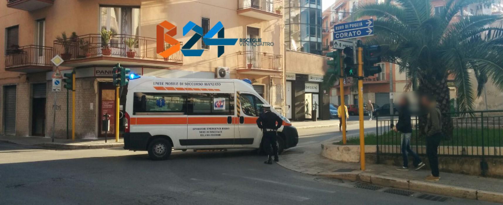 Investito pedone in via Piave, finisce in ospedale