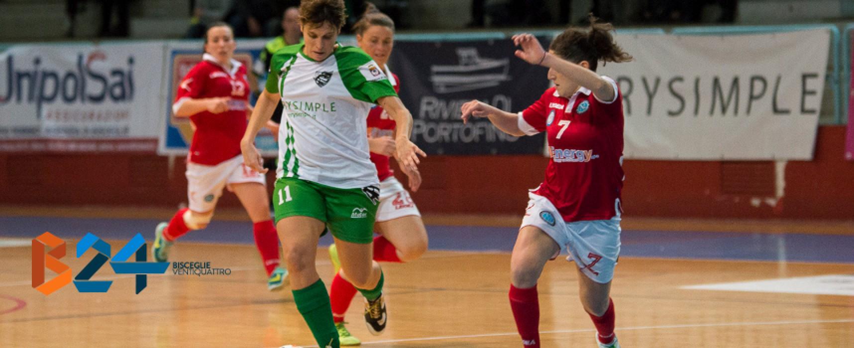 Calcio a 5 femminile: sorriso per il Futsal Bisceglie, Arcadia sconfitta in casa dal Napoli / CLASSIFICHE