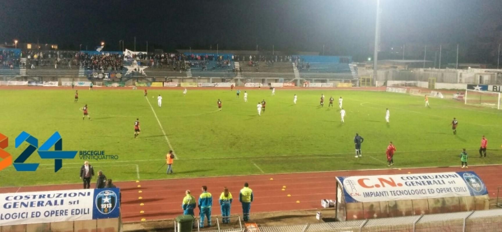 Bisceglie Calcio agli ottavi di Coppa Italia, battuta ai rigori la Nocerina