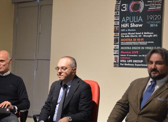"""Presentata la terza edizione di Apulia Hi-Fi show: """"Riscoprire il piacere di ascoltare musica"""""""