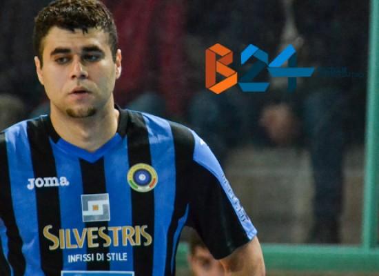 Il Futsal Bisceglie ufficializza l'uscita di Daniel Peruzzi