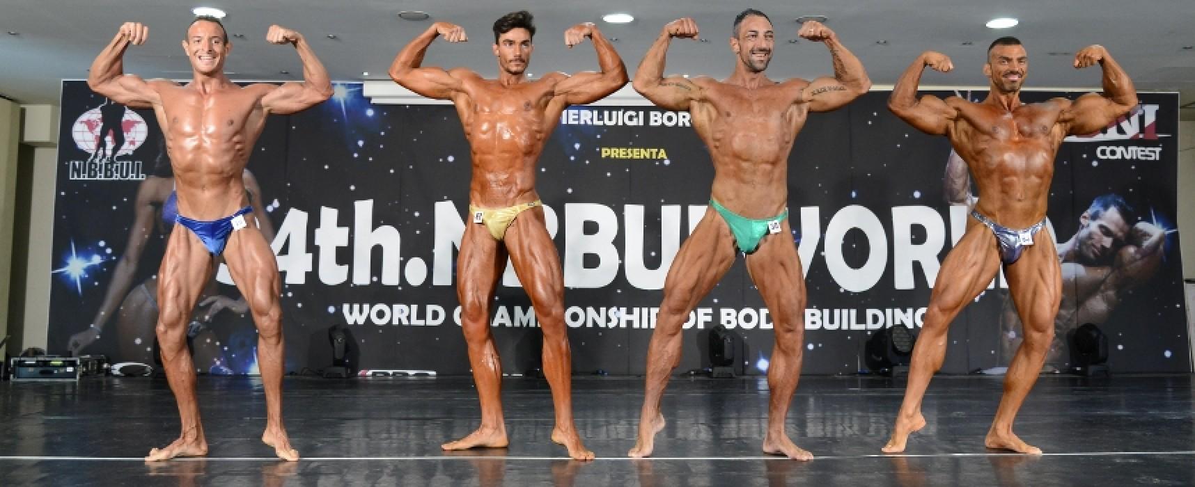 Il bodybuilder biscegliese Paky Dell'Olio torna a vincere, oro e argento a Castellaneta Marina