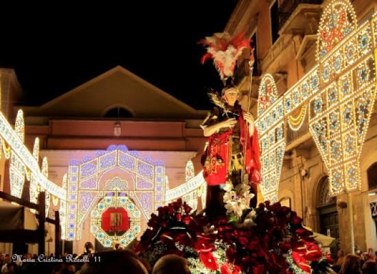 Al via a Bisceglie i festeggiamenti in onore di san Trifone