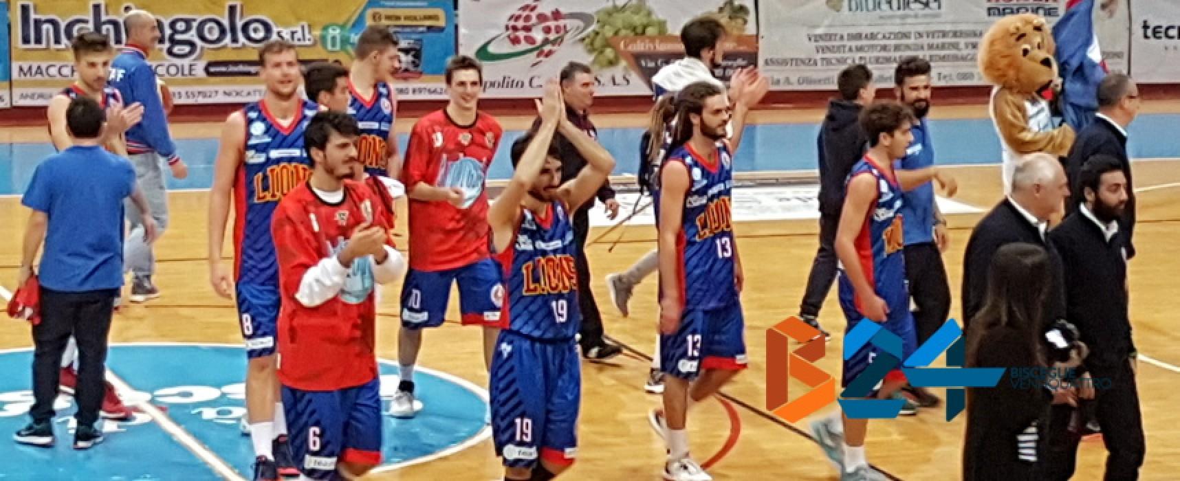Lions Basket importante vittoria casalinga contro l'ostica Ortona